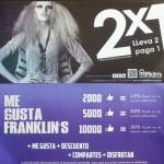 """Franklin's """"A más likes, más descuento"""""""