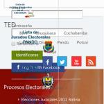 Listas de jurados elecciones 2014